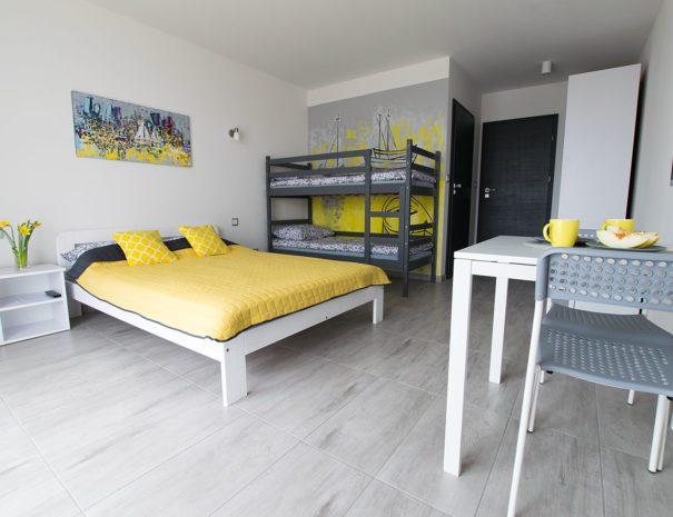 Pokój z łóżkiem piętrowym