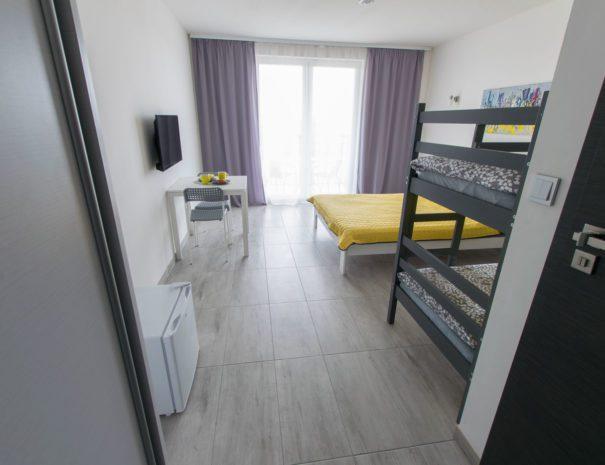 Pokój rodzinny z łóżkiem piętrowym