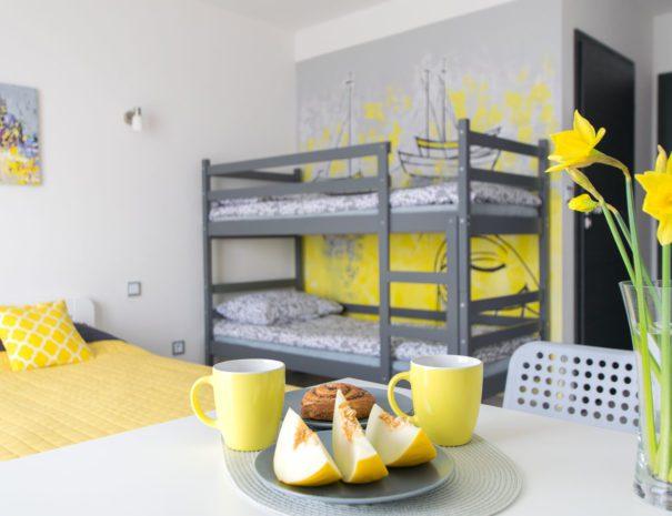 LABA pokój z łóżkiem piętrowym